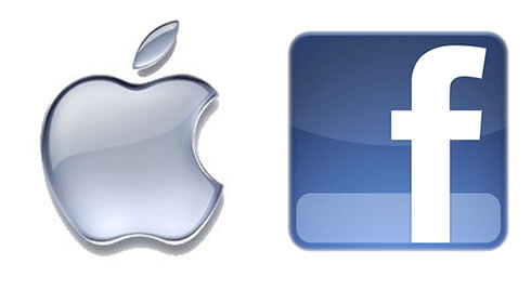 Apple Inc (NASDAQ:AAPL) Facebook (NASDAQ:FB)