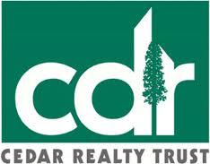 Cedar Realty Trust Inc (NYSE:CDR)