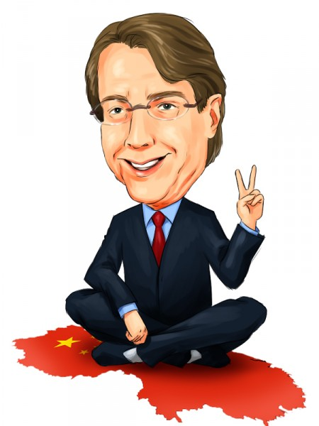 Jim Chanos on china map