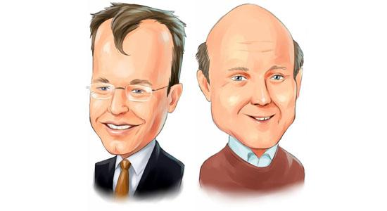 Stephen Elop & Steve Ballmer