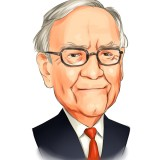 Warren Buffett portr
