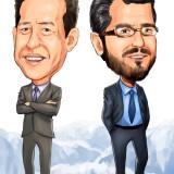 Andrew Feldstein and Stephen Siderow