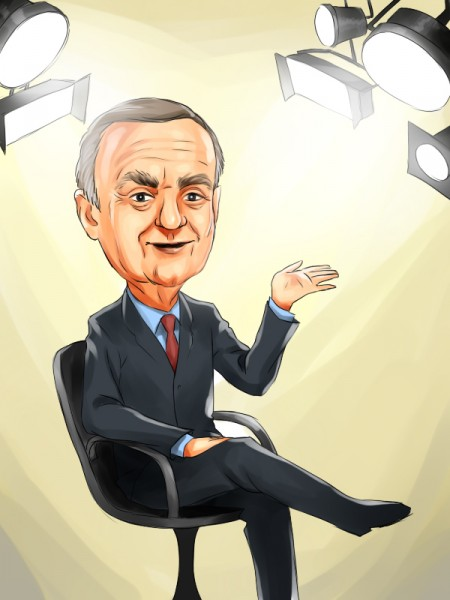 Leon Cooperman in spot light