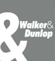logo walker & dunlop gray square