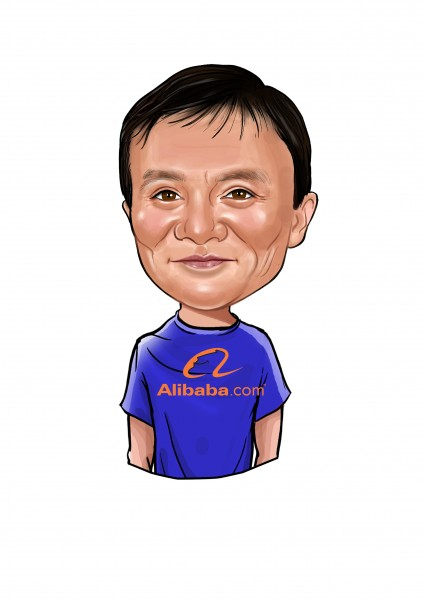 Jack Ma, Chairman of Alibaba Group Holding Ltd