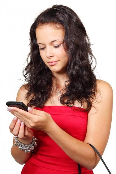 Apple AAPL Google GOOGL Smartphone Girl
