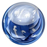 facebook FB social media world icon computer internet