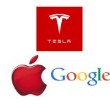 Tesla Motors Inc (NASDAQ:TSLA) Google Inc (NASDAQ:GOOGL) Apple Inc. (NASDAQ:AAPL)