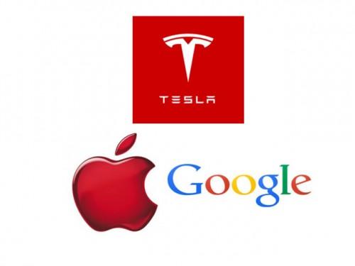Tesla Motors Inc (NASDAQ:TSLA) Google Inc (NASDAQ:GOOGL) Apple Inc. (NASDAQ:AAPL)
