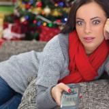 Liberty Media LMCA LMCB Liberty Interactive QVCA QVC internet woman laptop tree greeting decoration Christmas Shopping