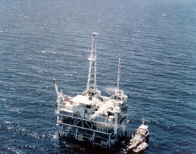 Offshore Oil Drilling BP RIG ESV 2