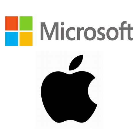 Apple Inc. (NASDAQ:AAPL), Microsoft Corporation (NASDAQ:MSFT)