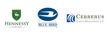 Blue Bird, Hennessy, Cerberus Logos