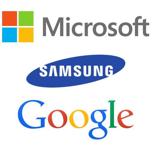 MSFT, GOOGL, Samsung, OTCMKTS:SSNLF