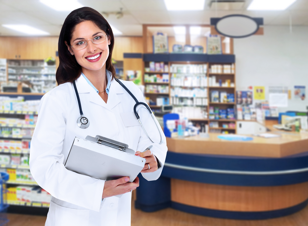 Gilead GILD pharmacist store examing pharmaceutical stocks medical