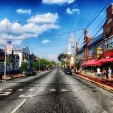 newark-Delaware street bulidings sky