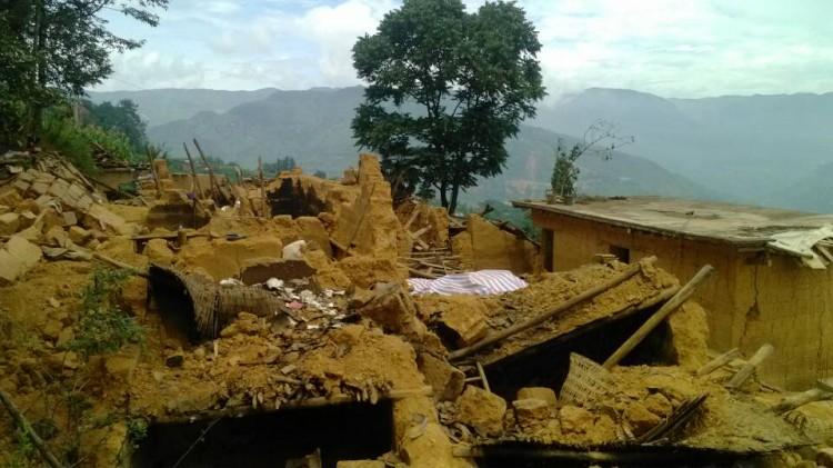 Zhoujiaping_after_Ludian_earthquake
