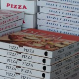 Norway pizza boxes
