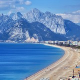 antalya, turkey, beach, konyaalti, sunlight, travel locations, travel, beauty in nature, mediterranean sea, mediterranean countries, vacations, outdoors, scenics, nature, coastline, travel destinations, relaxation