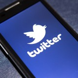 Twitter Inc (NYSE:TWTR), Logo, Sign, Phone, Display, Smarphone, Page