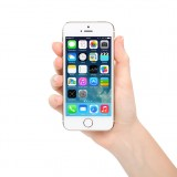 Apple Inc. (NASDAQ:AAPL), Iphone, hand, hold, white, mobile, technology, touch