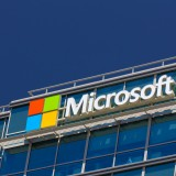 Microsoft Corporation (NASDAQ:MSFT), Logo, Sign, Building, Symbol, Microsoft corporate building