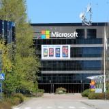 Microsoft Corporation (NASDAQ:MSFT), Microsoft sign, building, symbole, logo, nokia,