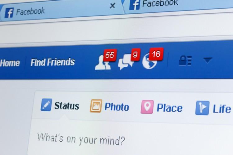Facebook Inc (NASDAQ:FB), Facebook notifications, friends request, messages, status, page, icon