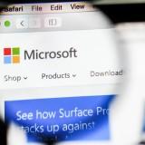 Microsoft Corporation (NASDAQ:MSFT), website, homepage, close up, windows, net, corporation, logo, sign, symbol