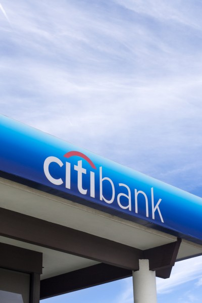 Citigroup Inc (NYSE:C), CitiBank, Sign, Building, Logo, finance