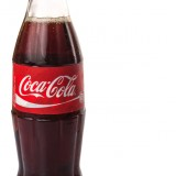 The Coca-Cola Co (NYSE:KO), Bottle, Isolated, Coke, Cola, Drink, Nonalcoholic, Beverage, Popular, Sign, logo, Symbol