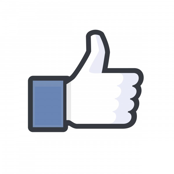 Facebook Inc (NASDAQ:FB), LIKE logo, sign, share, comment, logo, thumb, yes