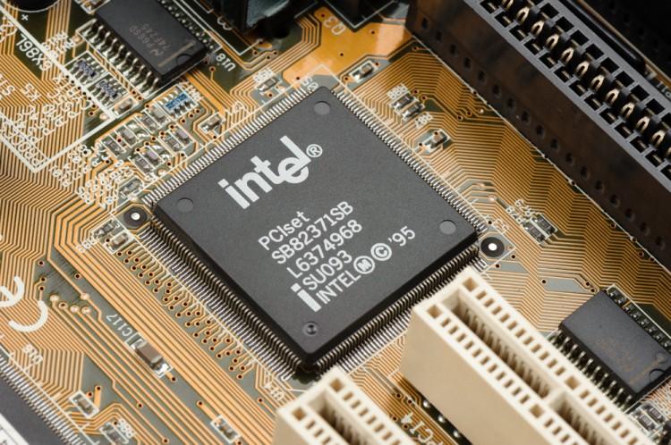 Intel Corporation (NASDAQ:INTC), microprocessor, Sign, Logo, chip, hardware, processor