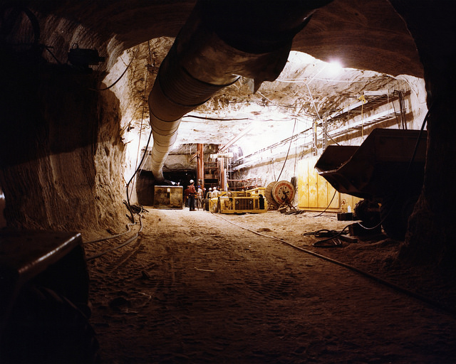Mining Tunnel Coal