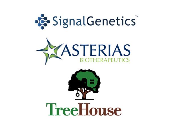 Signal Genetics Inc (SGNL), Asterias Biotherapeutics Inc (AST), TreeHouse Foods Inc. (THS), NASDAQ:SGNL, NYSEMKT:AST, NYSE:THS,