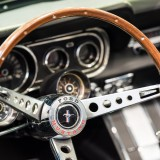 ford, mustang, shine, chrome, timer, ford mustang, sportscar, dashboard, new, sign, symbol, show, history, old ca