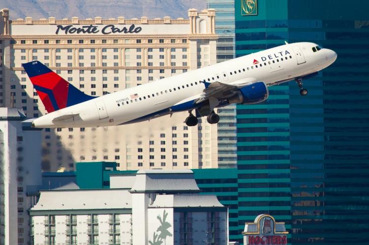 Delta Airlines DAL Monte Carlo airplane