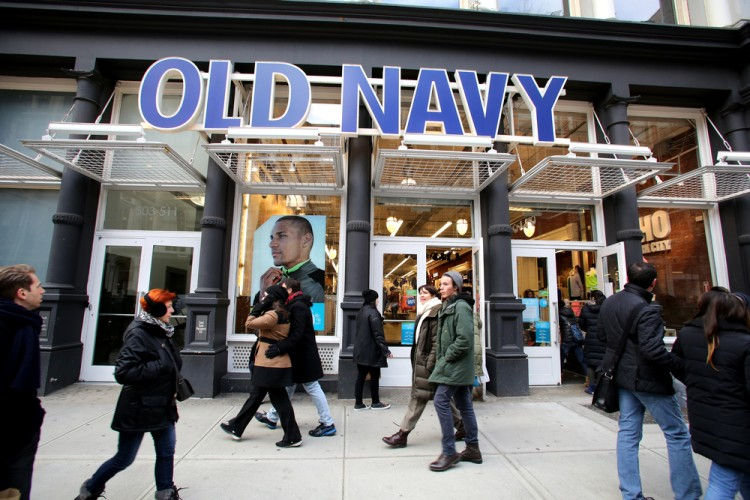Gap Inc GPS old navy clothing retail accessories