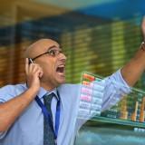 Insider Trading Wall Street Trader Panic