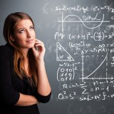 Teacher algebra, mathematical, chalkboard, mathematics triangle