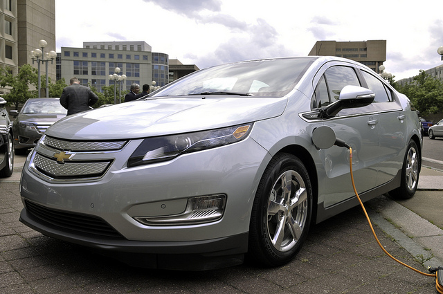 General Motors GM Electric Cars Volt Charging