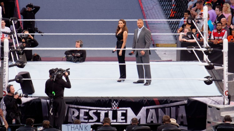 Stephanie McMahon, Triple H, Paul Levesque, WWE, wrestling, WrestleMania