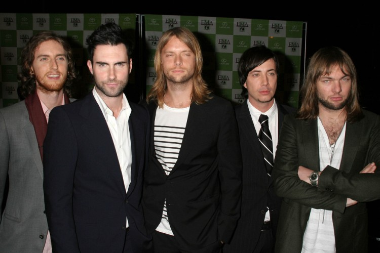 Most Popular American Youtube Channels Maroon5VEVO