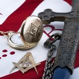 freemason, secret, symbolism, symbol, companionship, pennant, lodge, ensign, organization, seal, comradeship, master, confederation, confederacy, isolated, medal, community, order, freemasonry, society, insignia, confraternity, masonic, persecution