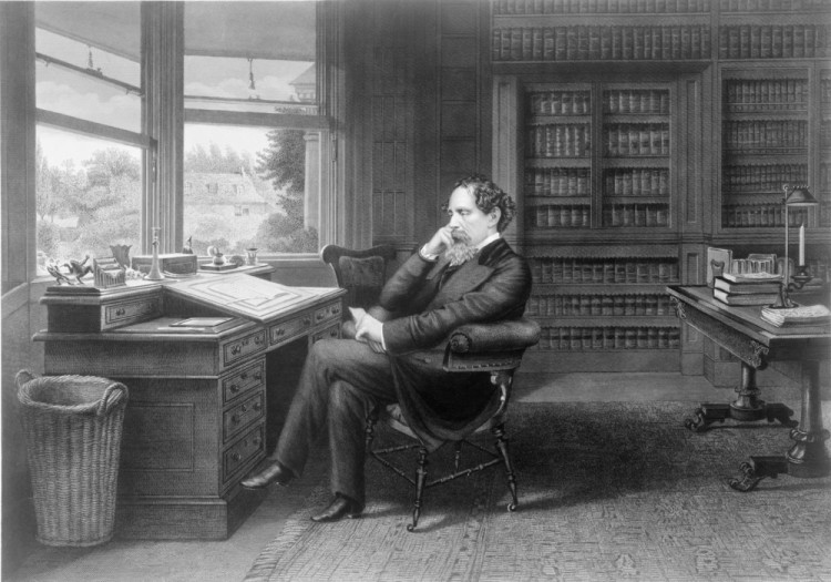 writer, english, literature, dickens, historical, charles, history, portrait, 1870s, century, author, england,author, 19th,7 Easiest Dickens Novel To Read First