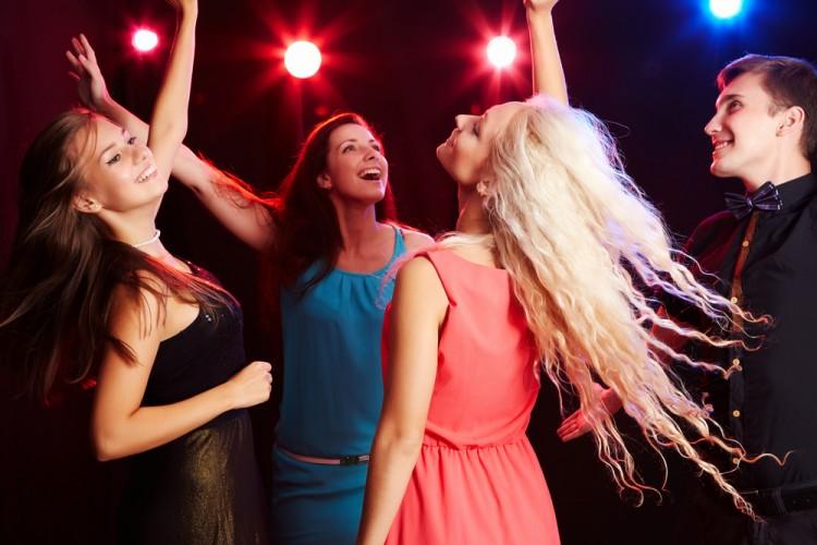 dancing, music, party, gun, nightclub,