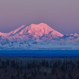 alaska, clouds, denali, foraker, landscape, mount, mountain, national, nature, outdoors, park, range, state, sunrise, sunset, wilderness, winter