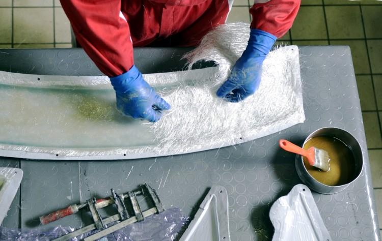 fiberglass, glass, repair, rubber, glue, plastic, worker, profile, closeup, manual, composite, pipe, pvc, adhesive, gum, warehouse, view, tool, urban, elastic, fix, trowel,