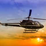 helicopter, transport, rio, sightseeing, group, city, blue, aviation, pilot, outdoors, transportation, sky,