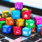 program, www, multimedia, web, cloud, internet, laptop, media, market, network, white, business, concept, tablet, sign, cube, symbol, social, notebook, service, cellphone,